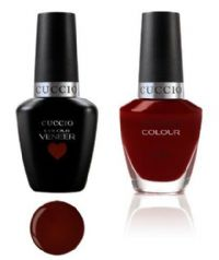 Cuccio Gel Duo Red Eye to Shanghai